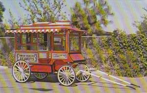 1929 Cretors Popcorn Wagon Horse Drawn