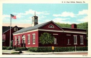 Pennsylvania Renovo Post Office Curteich