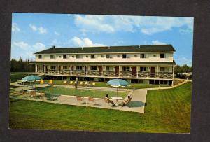 NB Wandlyn Motor Inn Motel Fredericton New Brunswick Canada Carte Postale PC
