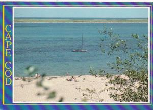 Massachusetts Cape Cod Chatham Lighthouse Beach 1987