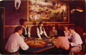 Harolds Club In Reno NV Nevada Covered Wagon Room Postcard
