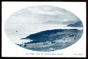 dc1288 - CAP L'AIGLE Quebec 1920s Lower St. Lawrence River by Rice