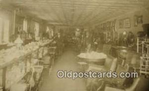 Interior Furniture Store, Real Photo Postcard Postcards  Interior Furniture S...