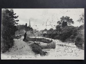 West Sussex: LL.15 CHICHESTER The Canal c1915