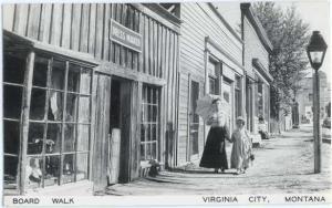 RP Board Walk in Virginia City Montana MT