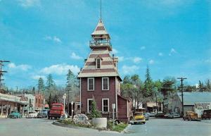 Auburn California Old Firehouse Street View Vintage Postcard K52255
