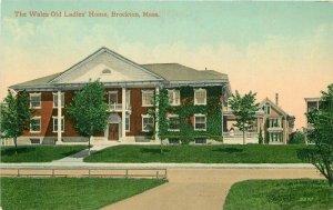 Brockton Massachusetts Wales Old Ladies Home Leighton #9270 C-1910
