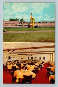 Perry GA- Georgia, Holiday Inn, Motel, Hotel, Vintage Chrome Postcard