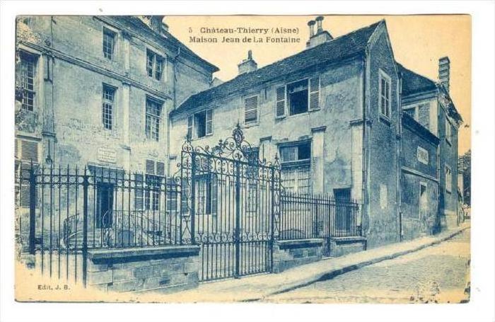 Chateau-Thierry (Aisne) , France, 00-10s   Maison Jean de La Fontaine