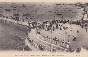 France Argachon Place Thiers Entree de la Jetee Le Bassin