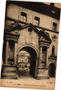 CPA DOLE-Portail du Palais de Justice (263522)