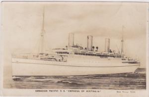 Canadian Pacific S. S. Empress Of Australia, PU-1933