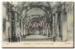CARTE Postal Toulouse Old Capitol Hall of Illustrious
