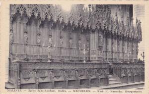 Mechelen / Malines,  Belgium, 00-10s ; Eglise Saint-Rombaut