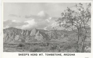 RP: TOMBSTONE, Arizona 1930-40s; Sheep's Head Mt.
