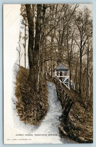 Postcard PA Brandywine Springs Summer Houses Cabins c1907 Pub Geo Wolf Q4