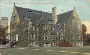 LPS32 CLEVELAND Ohio Western Reserve University Clark Hall Postcard