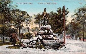 Statue of Captain ParkerLexington, Massachusetts