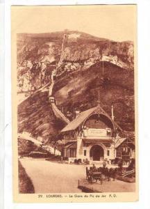 La Gare Du Pic Du Jer, Lourdes (Hautes-Pyrénées), France, 1910-1920s