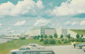 CORNWALL , Ontario , Canada , 50-60s; Dam & Generatinf Station Parking Lot