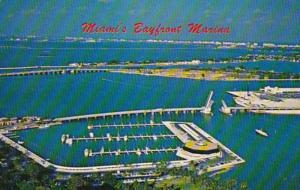Florida Miami Aerial View Of Miamarina
