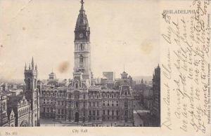 Air view, City Hall, Philadelphia, Pennsylvania, PU-1904