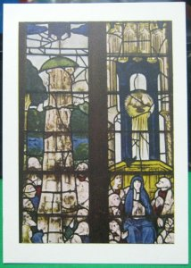 England Fairford Church No 9 Window Ascension of Christ - unposted