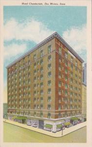 Hotel Chamberlain Des Moines Iowa