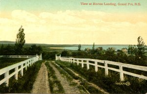 Canada - Nova Scotia, Grand Pre. View at Horton Landing
