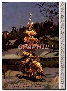 Modern Postcard Fantasy Christmas Tree