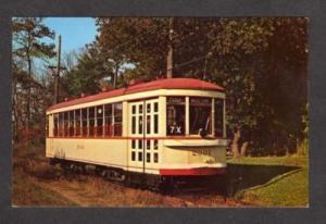 QC Trolley Train Car MONTREAL QUEBEC Canada Postcard
