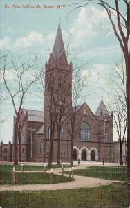 New York Rome Saint Peters Church 1913