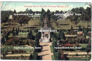 Chauncy Olcott, Saratoga Springs NY,