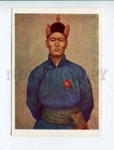 3040235 MONGOLIA Suhe-Bator portrait by Ydamsuren Old