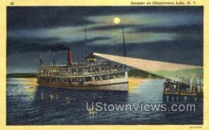 Chautauqua Lake, New York, NY Post Card Postcard Chautauqua Lake NY Unused