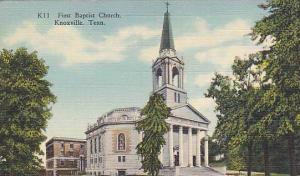 First Baptist Church, Knoxville, Tennessee, 1930-1940s