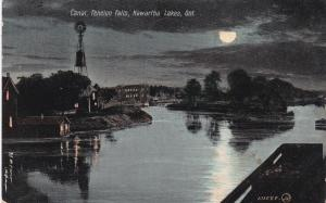 Canal, FENELON FALLS, Kawartha Lakes , Ontario, Canada, PU-1909; At Night