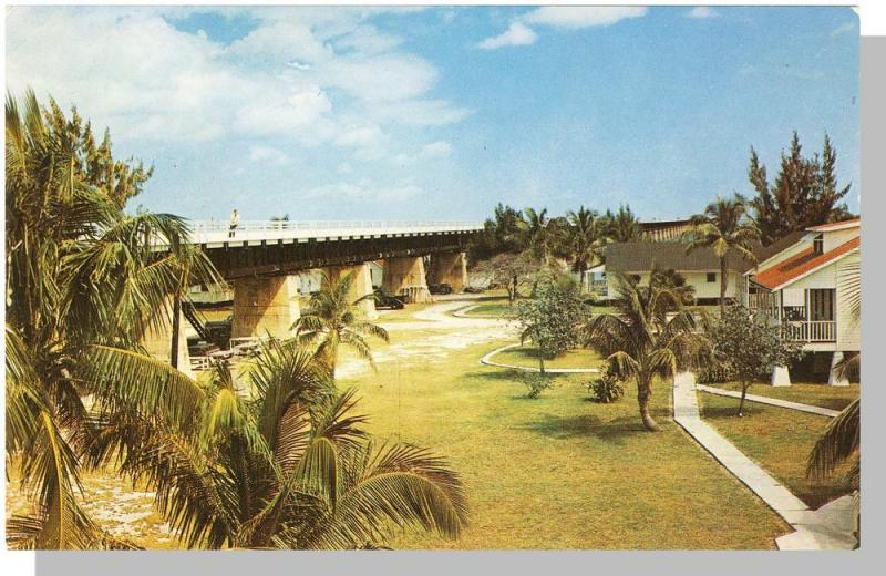 Classic Pigeon Key, Florida/FL Postcard, Overseas Highway