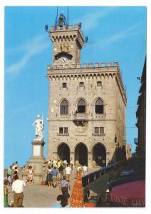 San Marino Palazzo del Governo Governors Palace 4X6 Postcard