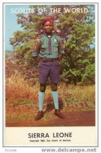 Boy Scouts of the World, SIERRA LEONE SCOUTS, 1968