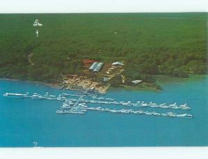 Pre-1980 AERIAL VIEW OF TOWN Hilton Head Island South Carolina SC n3444