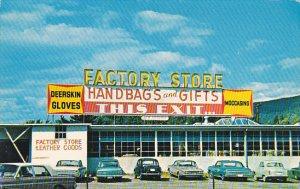 Vermont Brattleboro Factory Store Deerskin Moccasins & Gloves