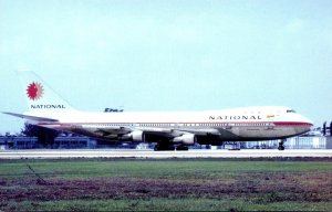 National Airlines Boeing 747 At Miami International Airport