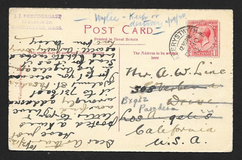 NEW ZEALAND Stamps on Postcard National Health Used c1912