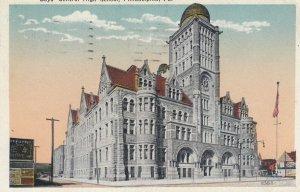 PHILADELPHIA , Pennsylvania , 1900-10s ; Boys Central High School