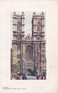 England London Westminster Abbey West Front Tucks