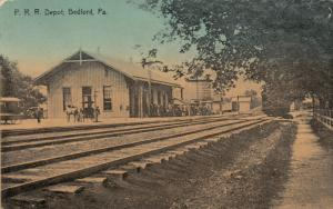 BEDFORD , Pennsylvania , 1900-10s ; Railroad Depot