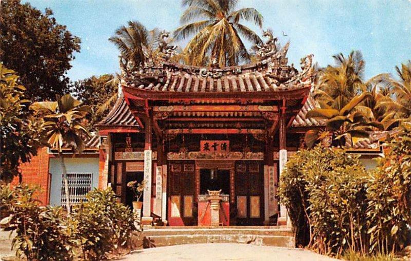 Snake Temple at Sungei Kluang Penang Malaysia Unused