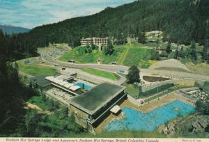 RADIUM HOT SPRINGS , B.C. , 50-70s ; Lodge & Aquacourt