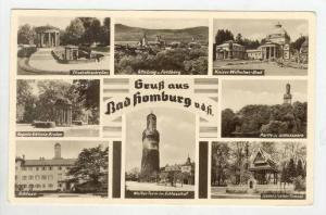 RP: Multiview, SIghts around Bad Homburg,Hesse,Germany 1953 PU
